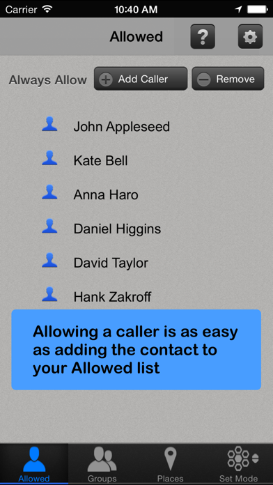 Call Bliss - Silence calls and text alerts from unwanted callers screenshot