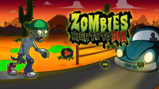 Zombies Rights to Die - Zombie's Attack Free Action Game Like Dead Trigger, Zombie Highway, Zombie Gunship screenshot one