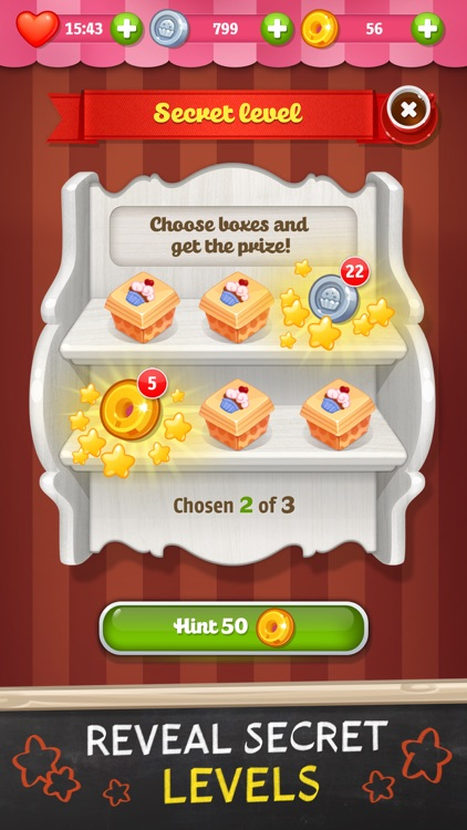 Cake Story: the sweetest match-3 game