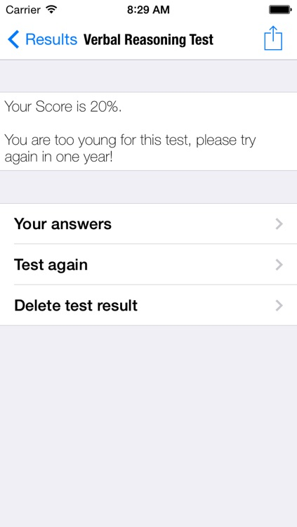 Kids IQ Verbal Reasoning Test screenshot-3