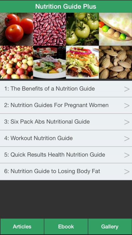 Nutrition Guide Plus - Learning Good Nutrition For Healthy!