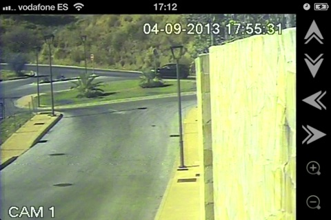 Screenshot of MabralCCTV