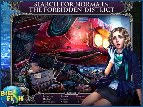 Mystery Trackers: Blackrow's Secret HD - A Hidden Object Detective Game screenshot two