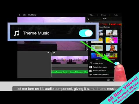 Prep for iMovie for iOS Screenshot 1