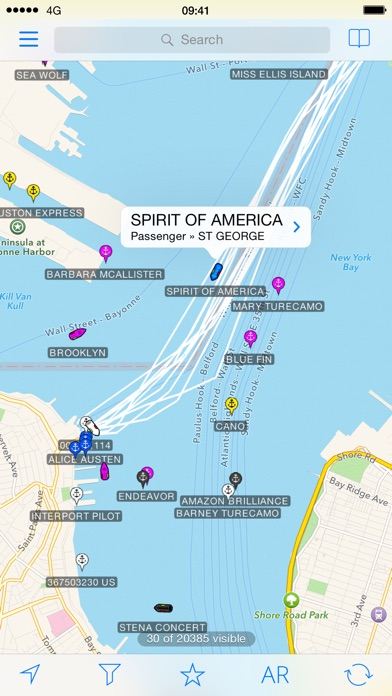 Screenshot for Ship Finder in United States App Store