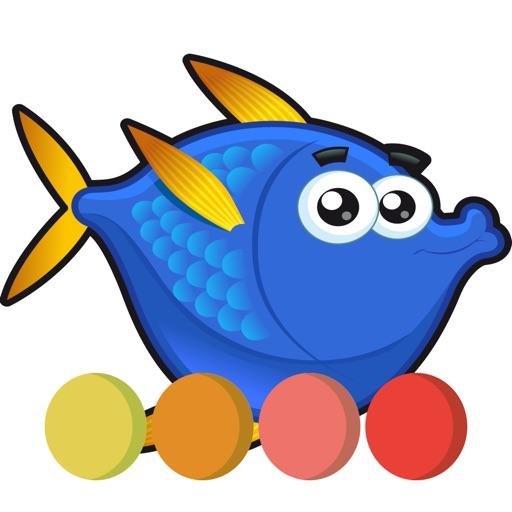 Fantastic Fish coloring book