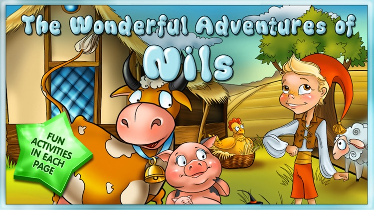 The Wonderful Adventures of Nils - Kids Book screenshot-0
