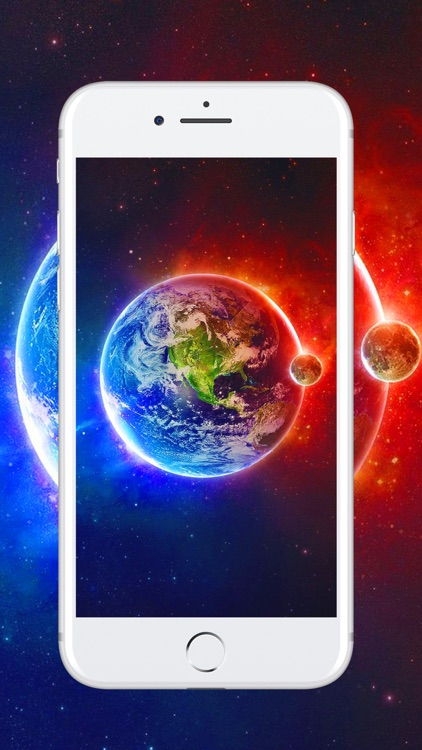 HD Wallpapers & Backgrounds Themes For iPhone iPad screenshot-3