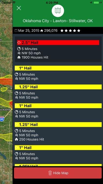 Hail Trace screenshot-3