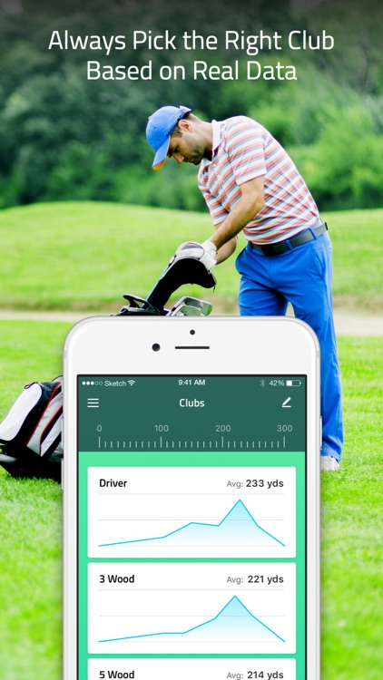 TrackMyGolf: Golf GPS scorecard range finder watch screenshot-4