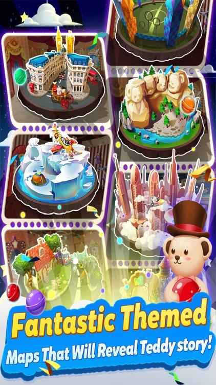 Teddy Pop - Bubble Shooter screenshot-3
