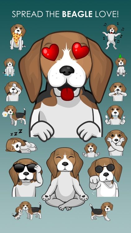 BeagleMojis - Beagle Emojis & Stickers screenshot-3