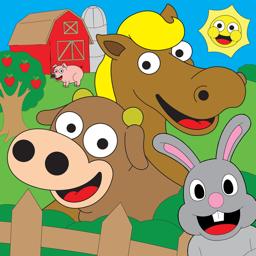 Ícone do app Coloring Animal Farm Livro De Coloração Para Jogos