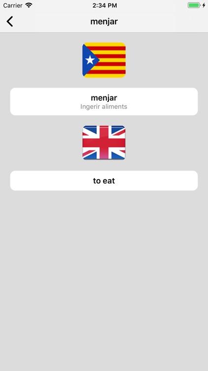 Catalan-English Dictionary screenshot-4