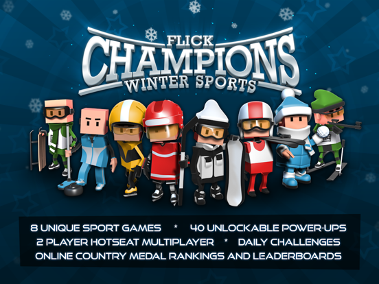 Flick Champions Winter Sports For iOS Drops To Free For First Time In Two Months