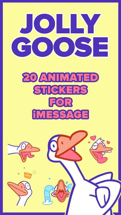Jolly Goose – Animated Sticker Pack