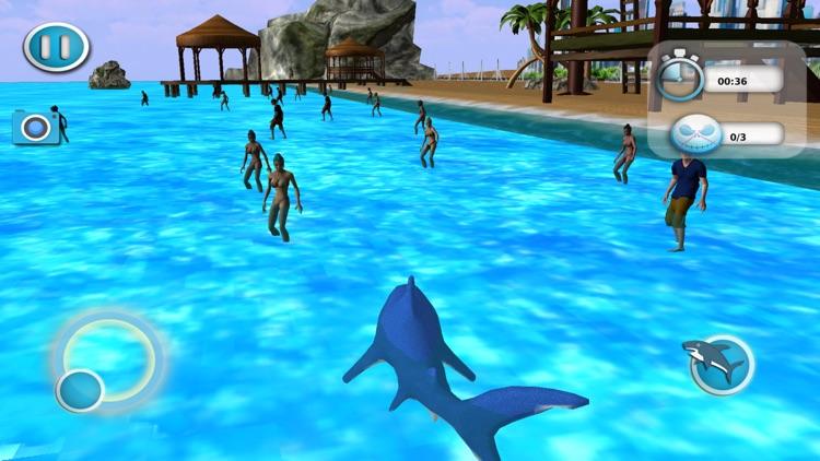 Angry Shark Attack Adventure Game screenshot-3