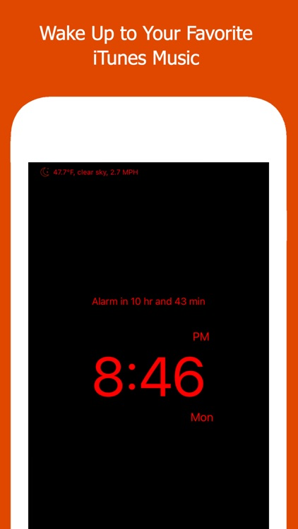 Move Alarm Clock -  My Wake Up Music Alarm Clock