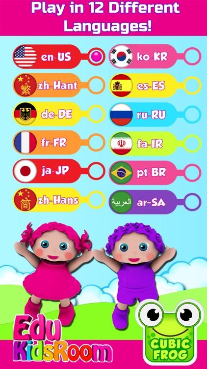 Preschool Educational Games for Kids-EduKidsRoom screenshot-4