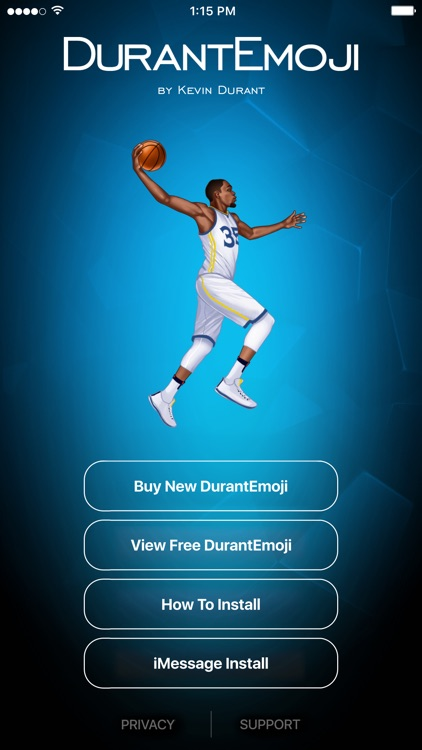 DurantEmoji by Kevin Durant screenshot-4