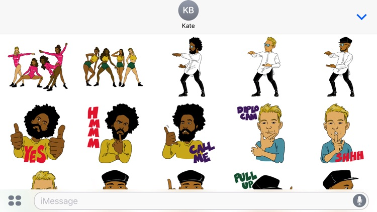 Major Lazer Stickers screenshot-3