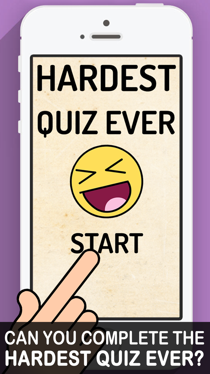 Hardest Quiz Ever! Screenshot
