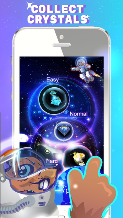 Space Beaver: Fast reaction game with gesture screenshot three