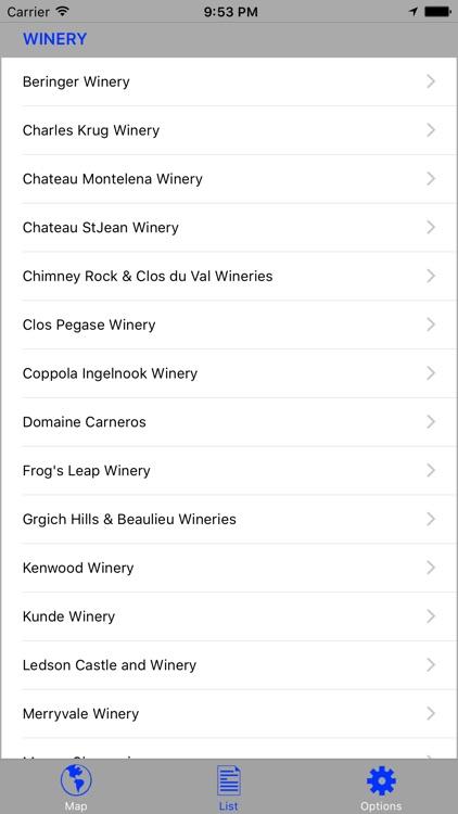 Napa & Sonoma Wine GPS SelfTour screenshot-4