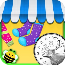 My Store - CAD coins learning game for kids