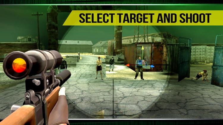 Zombie Machine Gun Shooter On Highway