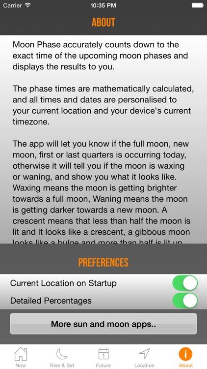 Moon Phase Plus screenshot-4