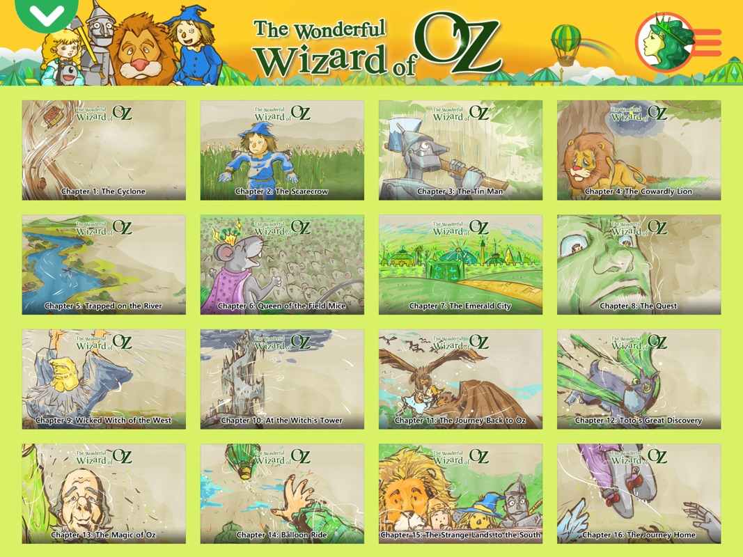 The Wizard of Oz - Little Fox Storybook - Online Game Hack and Cheat