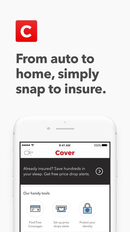Cover - Car & Home Insurance screenshot-0