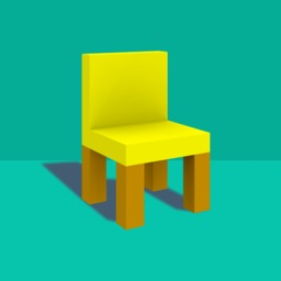 a chair tower- Stack the chairs -