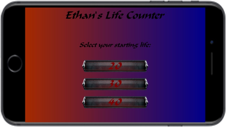 Ethan's Life Counter 2 - Multiplayer MTG