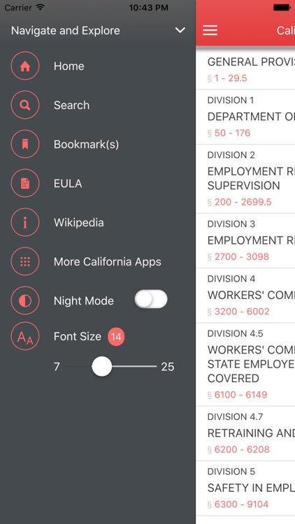 California Labor Code screenshot-4