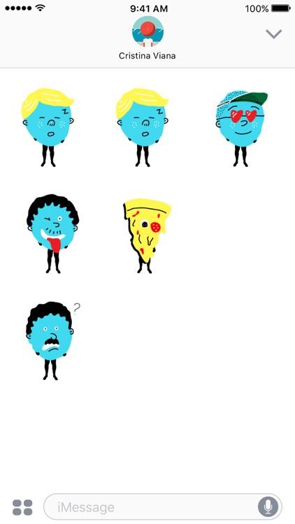 Mascot Stickers screenshot-3