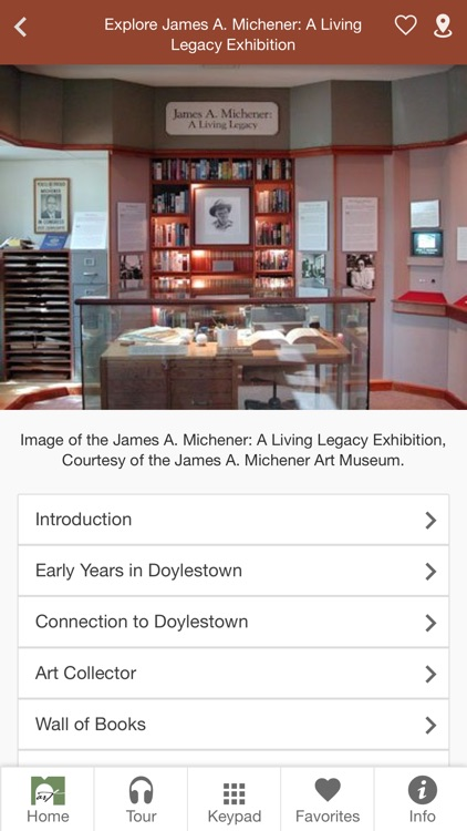 James A Michener Art Museum screenshot-0