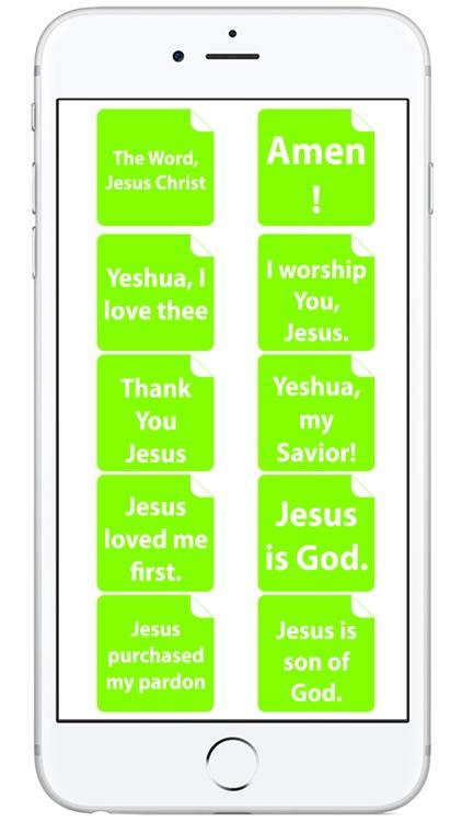i love Jesus! Amen (FREE) Emoji Sticker screenshot-3