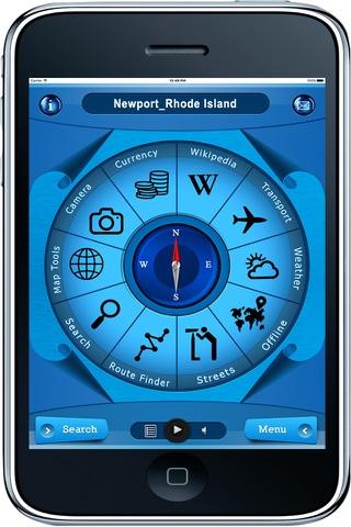 Newport Rhode Island - Offline Maps navigator - náhled