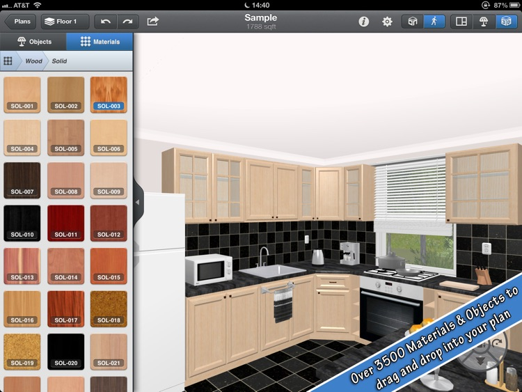 design a kitchen app for ipad interior design for by black mana studios 661