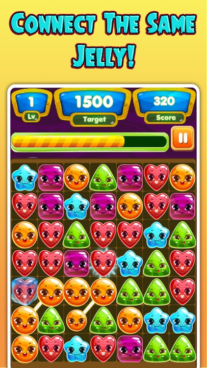 Jelly Blast - A jellies Link Puzzle Games