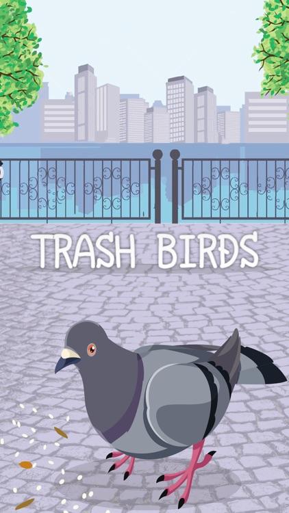 Trash Birds - Funny Realistic Pigeons
