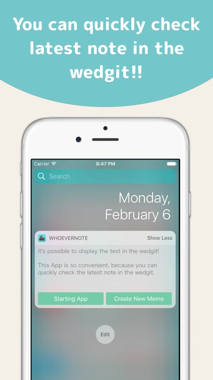 WhoeverNote -Simple Note-