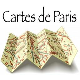 Maps of Paris