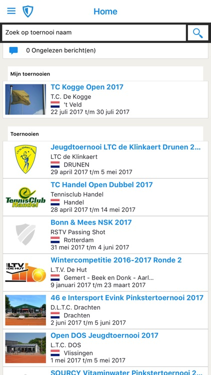 Toernooi.nl Tennis
