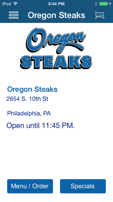 Oregon Steaks screenshot one