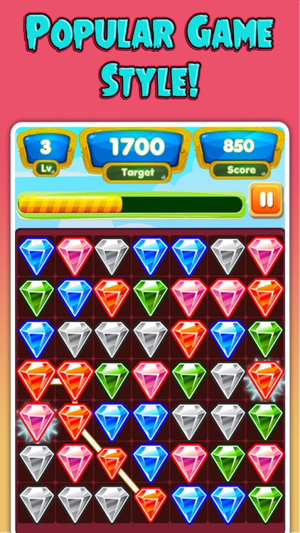 Jewel Smash Pop Deluxe Mania - Connect & Matching