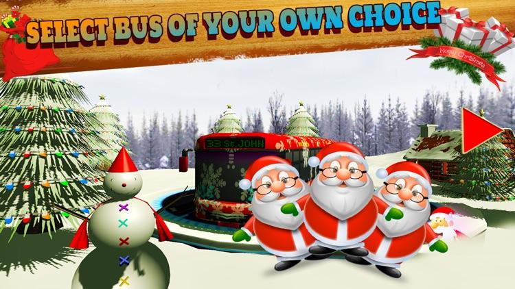 Christmas Party Snow Coach Bus Simulator Pro 2016