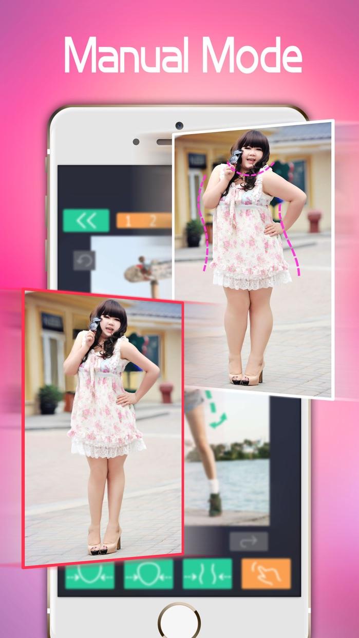 Make Me Thin - Photo Slim & Fat Face Swap Effects Screenshot